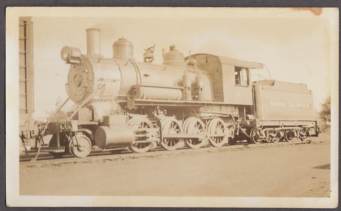 Image for Rahway Valley Railroad 2-8-0 E-7 #14 locomotive photo Kenilworth NJ 1935