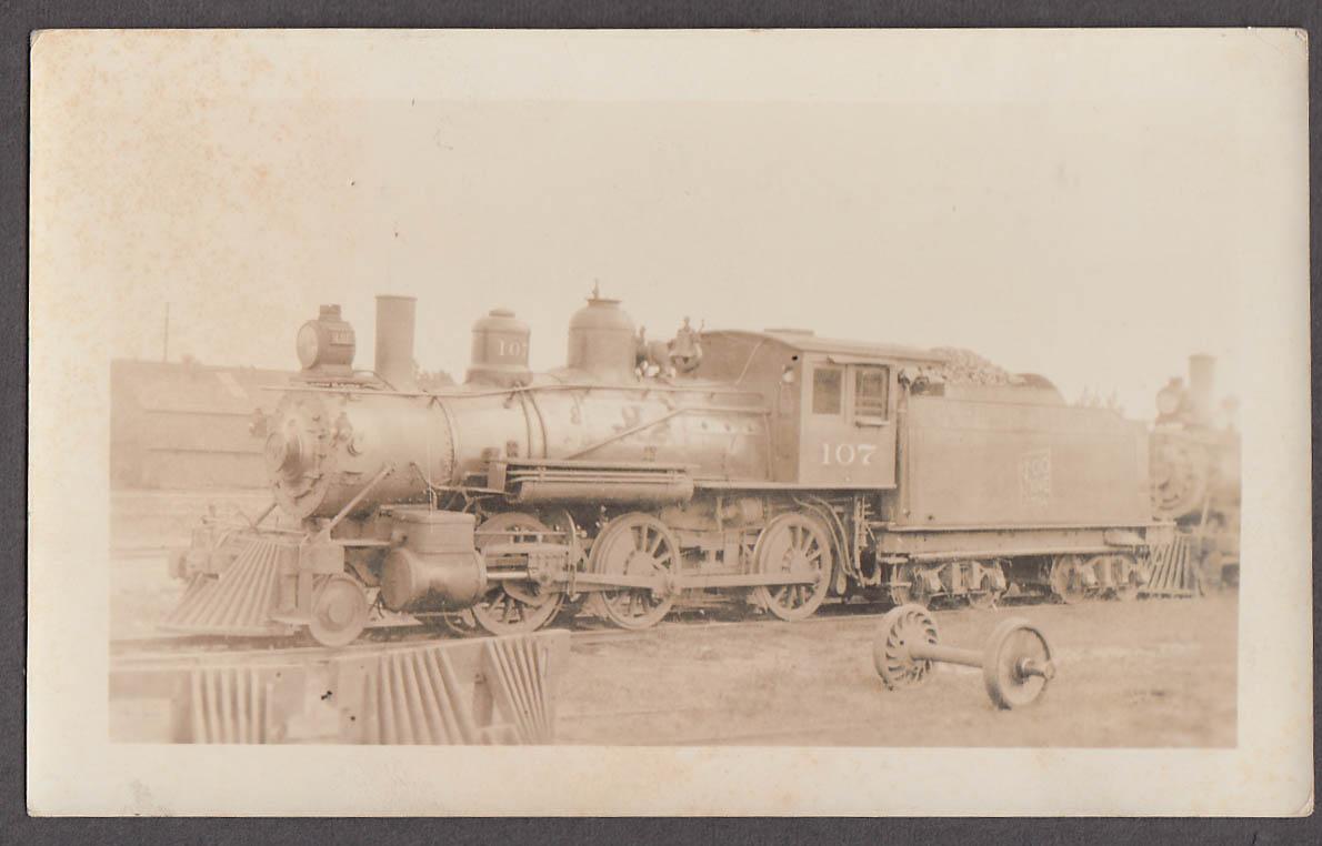 Image for Soo Line Railroad 2-6-0 #107 locomotive photo