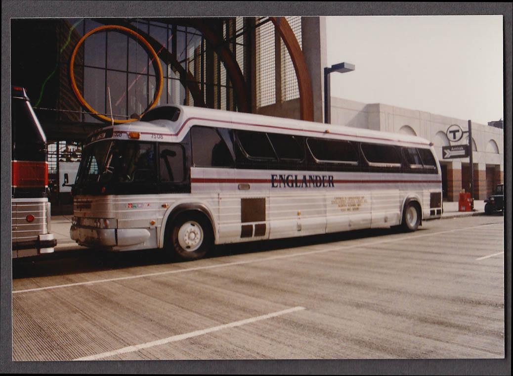 Image for Englander Coach Lines #7508 bus snapshot Boston 1990