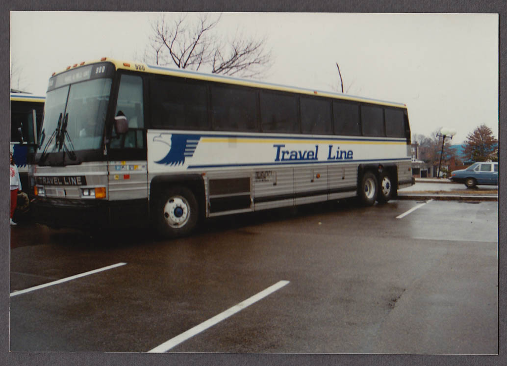 Image for Travel Line #900 bus snapshot Quincy MA 1989