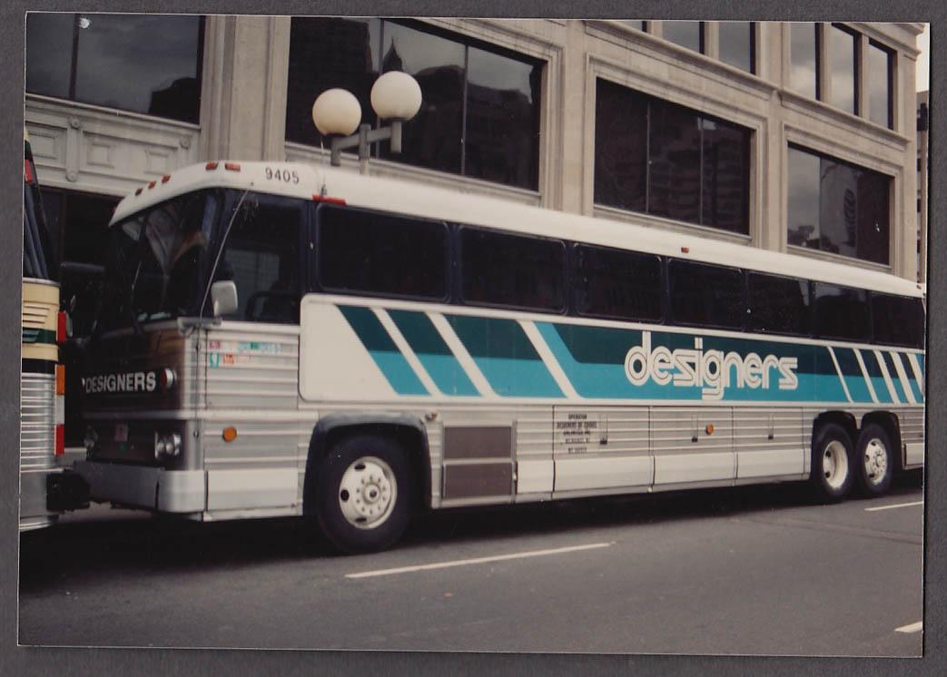 Image for Concord Trailways MCI #781 bus snapshot Boston 1988