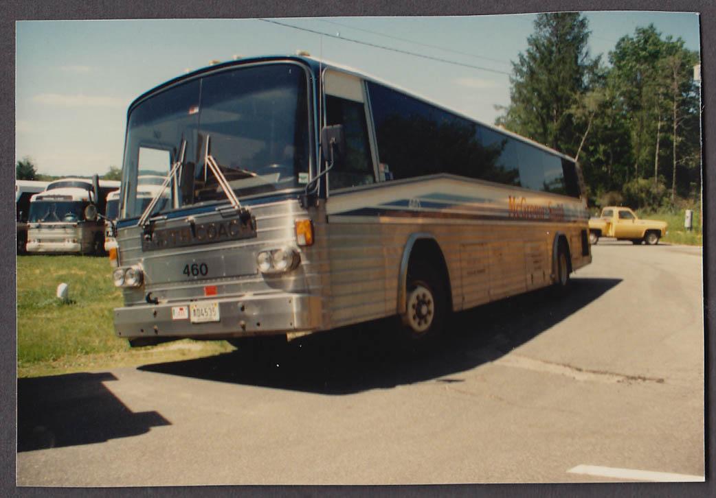 Image for McGregor Smith Motor Co #460 bus snapshot Plaiston NH 1988