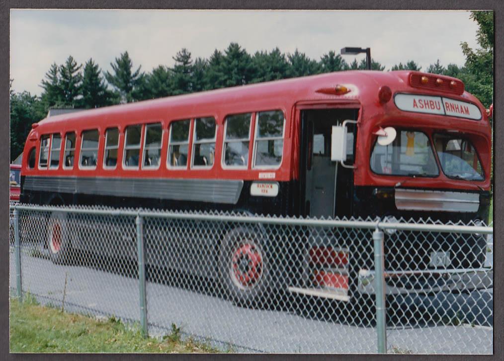 Image for Hancock VFA Ashburnham bus snapshot 1986