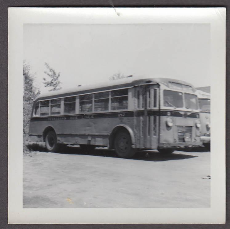 ACF #157 Flanagan's Bus Lines Gardner MA snapshot 1957