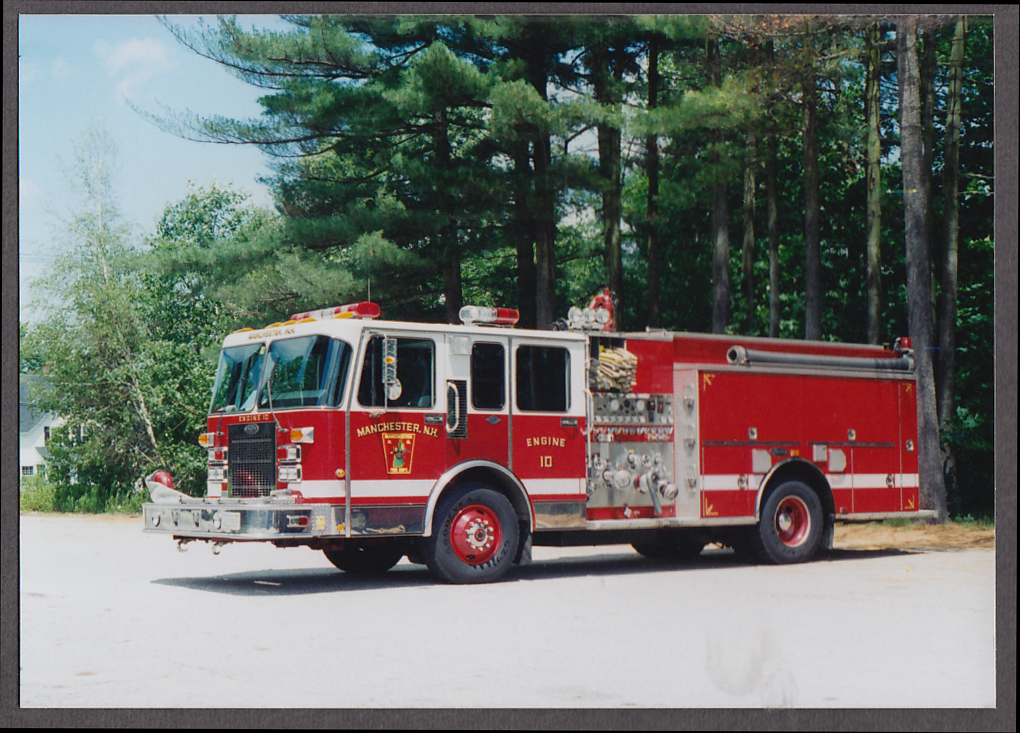Image for Manchester MA FD Pumper Engine #10 fire truck photo