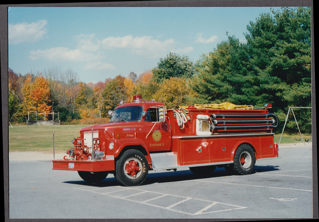 Image for Berlin MA FD International Fleetsar 2010A Pumper Engine #3 fire truck photo