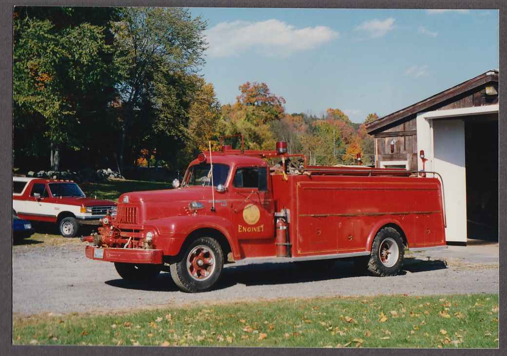 Bolton MA FD International Pumper Engine #7 fire truck photo