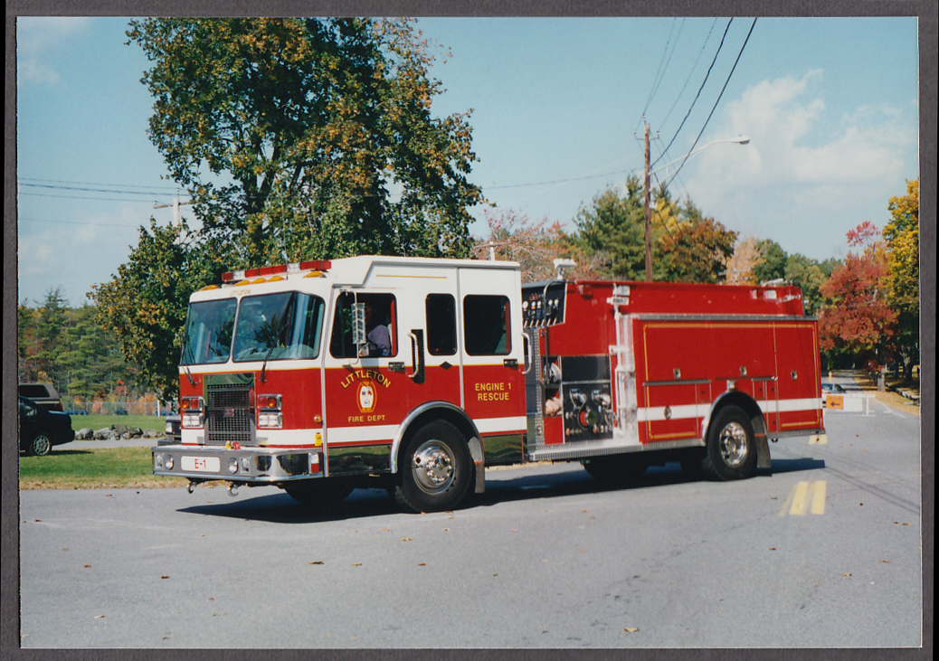 Littleton MA FD Rescue Engine #1 fire truck photo