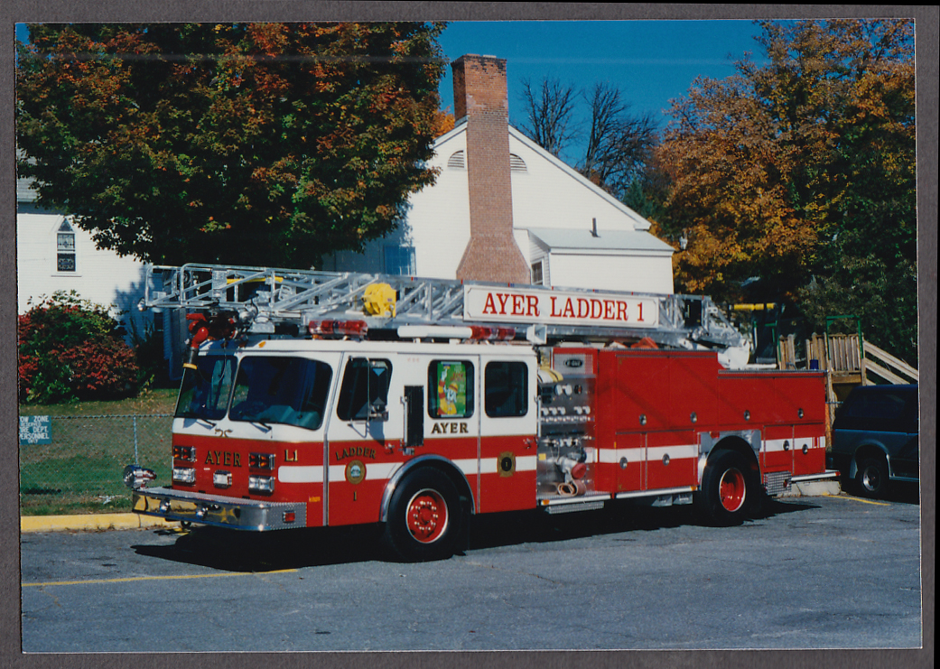 Ayer MA FD Ladder Truck Engine #1 fire truck photo