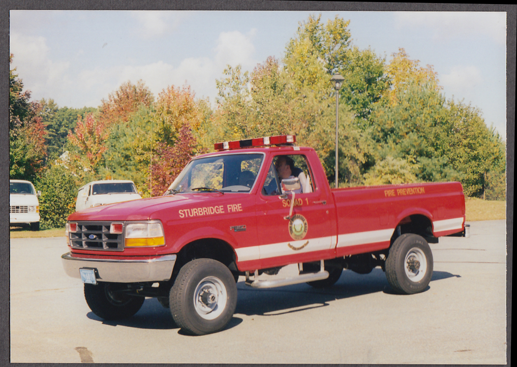 Image for Sturbridge MA FD Ford F350 4WD Fire Prevention Pickup Squad #1 fire truck photo