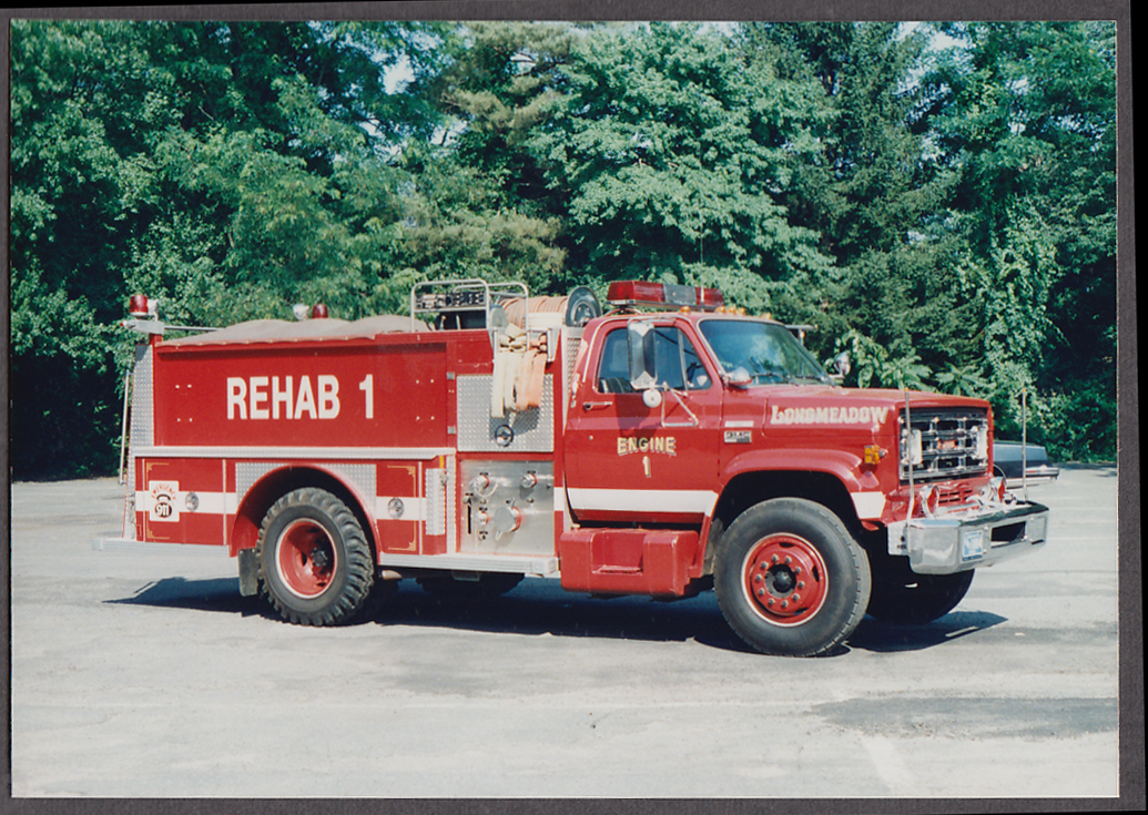 Longmeadow MA FD Ford Rehab Engine #1 fire truck photo