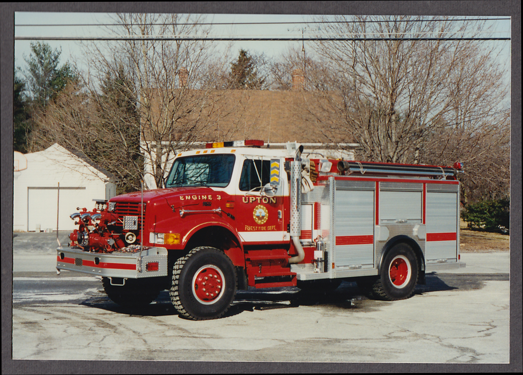 Image for Upton MA FD International 4800 Pumper Engine #3 Forest Fire truck photo