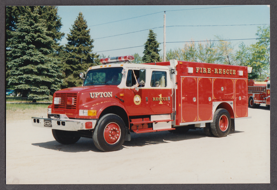 Image for Upton MA FD International Fire Rescue Engine #1 fire truck photo