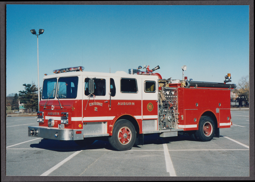 Auburn MA FD Maxim Pumper Engine #2 fire truck photo