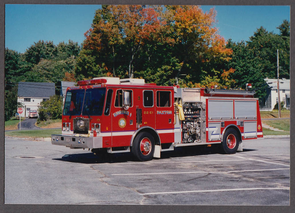 Paxton MA FD KME Pumper Engine #1 fire truck photo