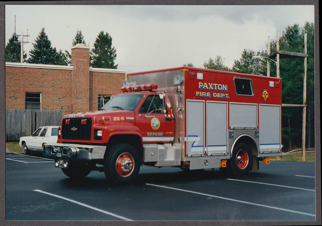 Paxton MA FD Chevrolet Kodiak Rescue Engine #22-R fire truck photo on lot