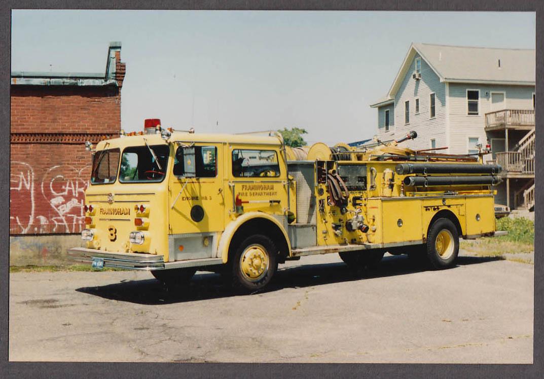 Image for Framingham MA FD Maxim Pumper Engine #4 fire truck photo