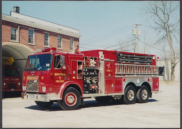 Wrentham MA FD International Ranger Tank Engine #1 fire truck photo