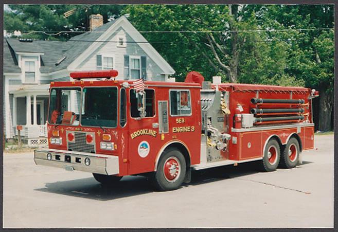 Image for Brookline NH FD KME Pumper Engine #3 fire truck photo