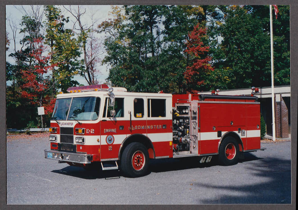 Leominster MA FD Pierce Pumper Engine #2 fire truck photo