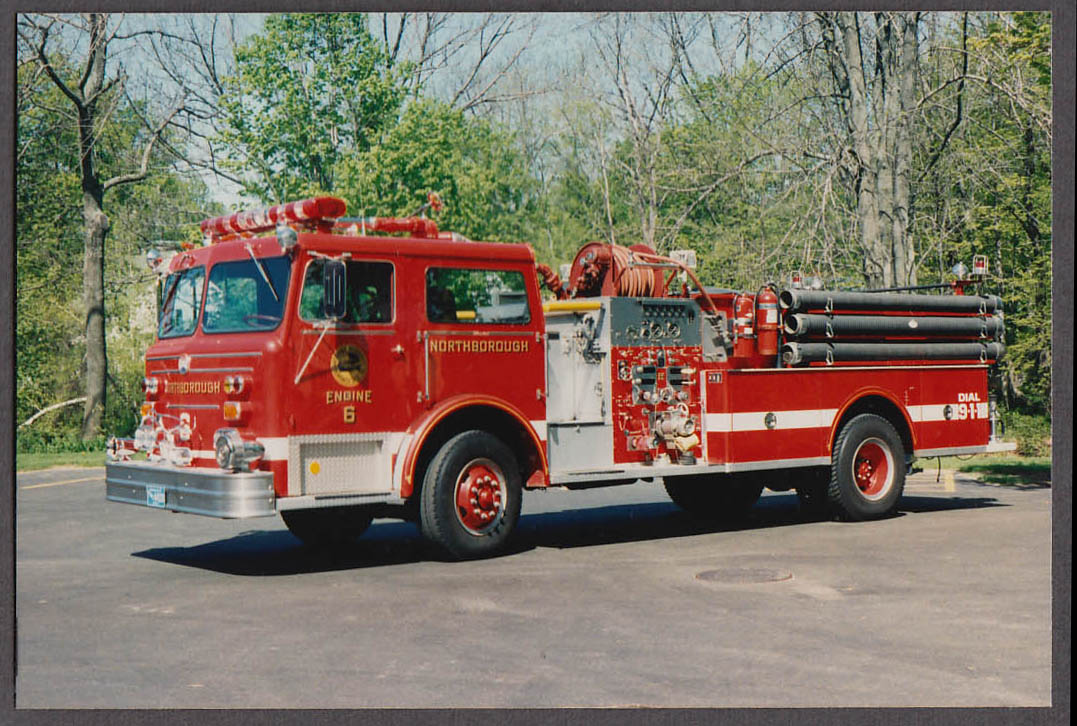 Northborough MA FD Maxim Pumper Engine #6 fire truck photo