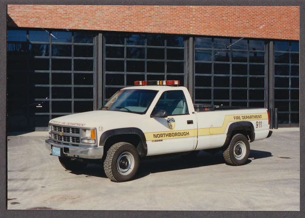 Northborough MA FD Chevrolet 2500 Pickup Truck C-2 fire truck photo