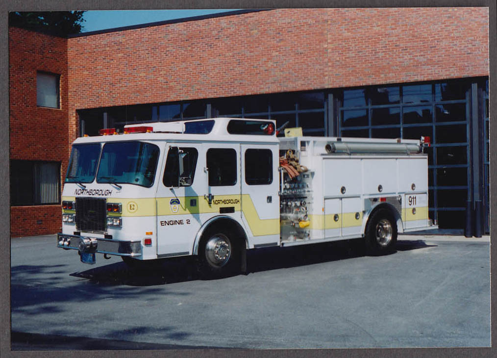 Northborough MA FD E-One Pumper Engine #2 fire truck photo