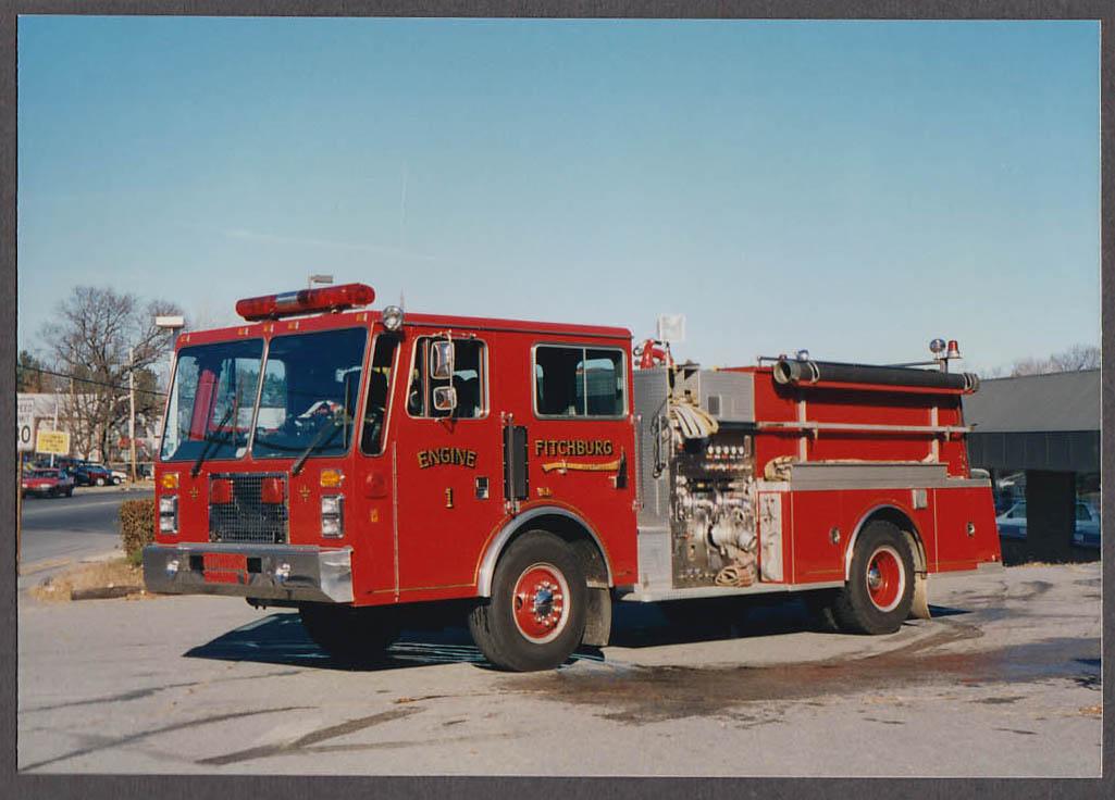 Fitchburg MA FD Pumper Engine #1 fire truck photo