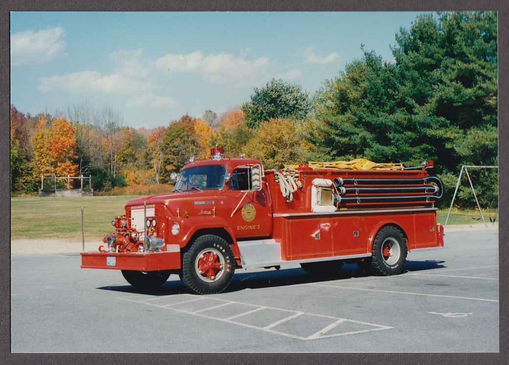 Berlin MA FD International Fleetstar 2010 Farrar Pumper #3 fire truck photo