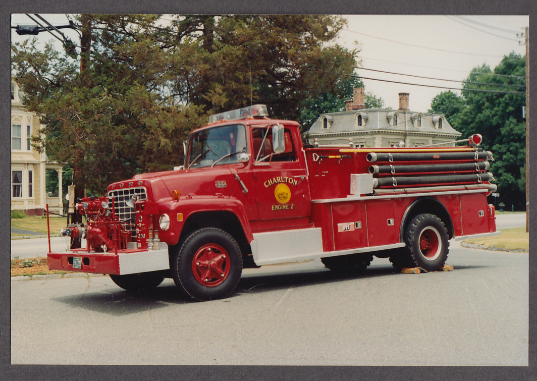 Image for Charlton MA FD Ford 800 Pumper Engine #2 fire truck photo