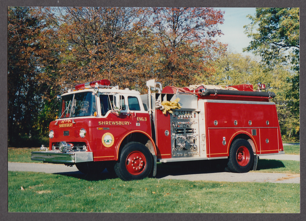 Shrewsbury MA FD KME Pumper Engine #3 fire truck photo