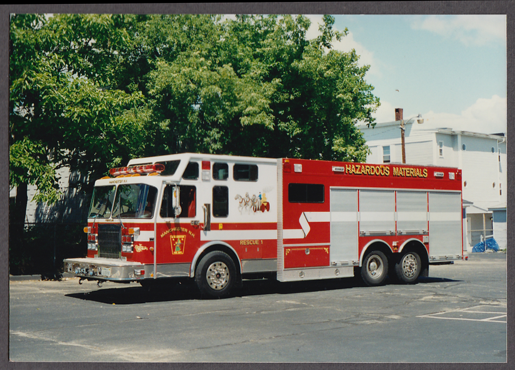 Warren MA FD Pumper Engine #1 fire truck photo