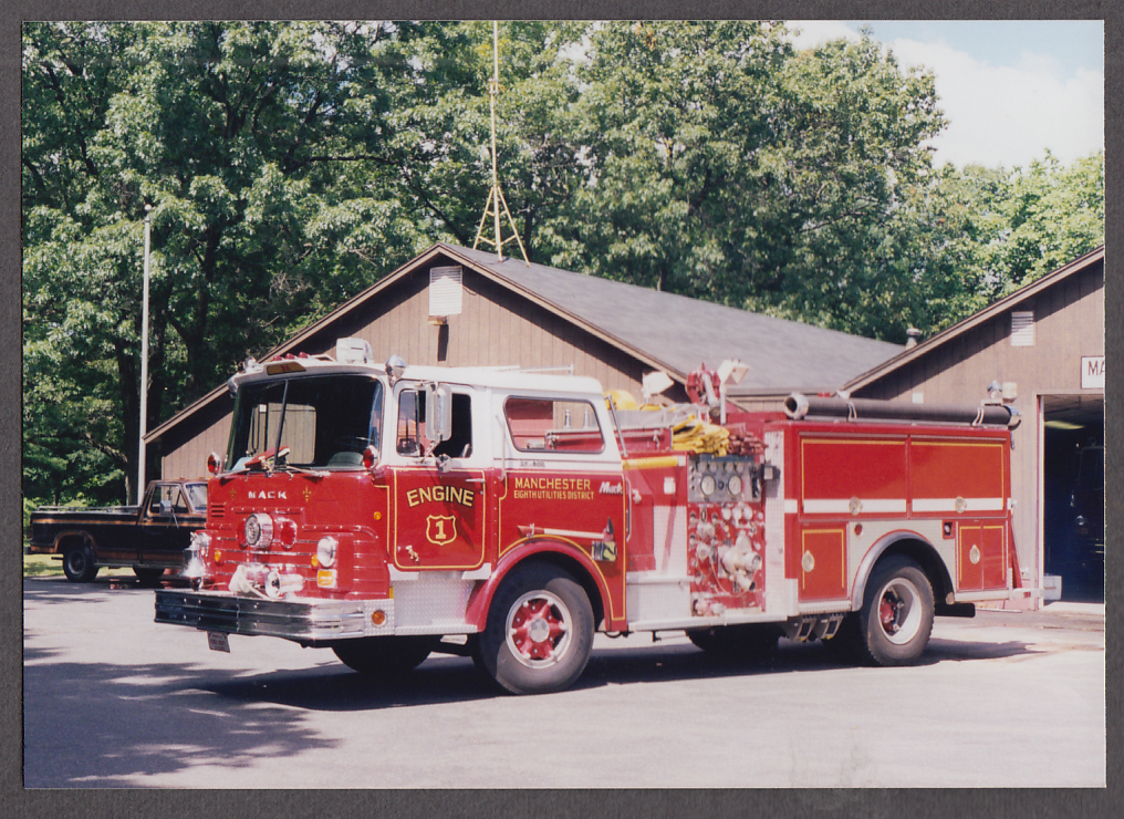 Image for Manchester NH FD Mack Pumper Engine #1 fire truck photo