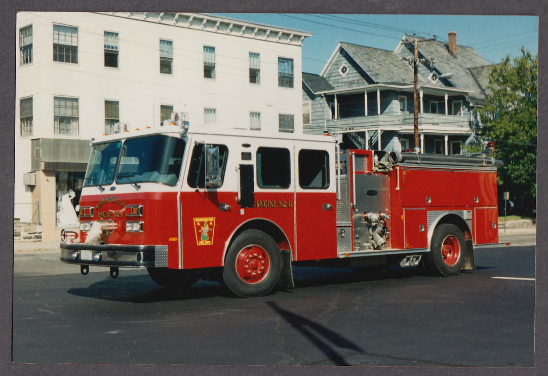 Manchester NH FD Pumper Engine #6 fire truck photo