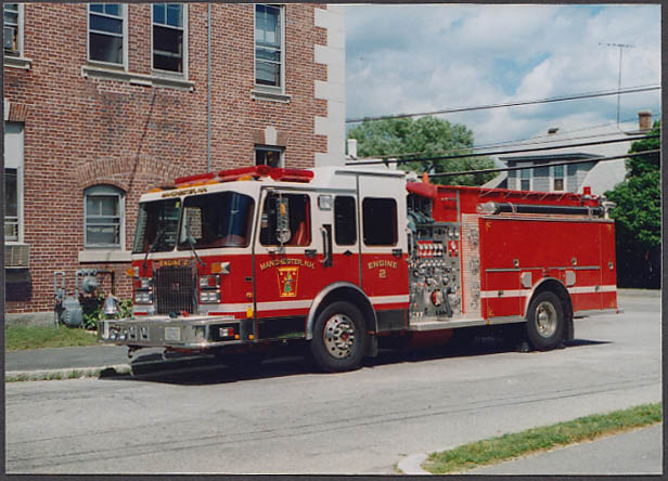 Image for Manchester NH FD Pumper Engine #2 fire truck photo