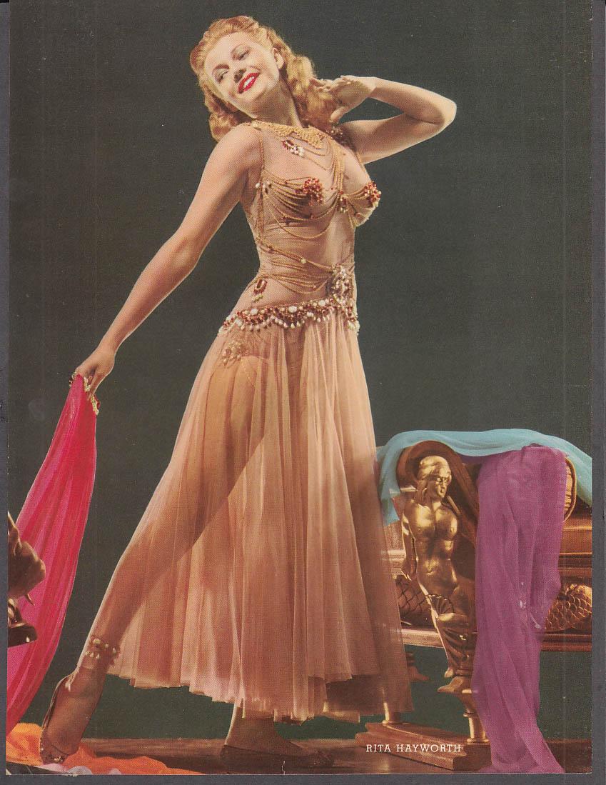 Actress Rita Hayworth 36-26-35 1/2 pin-up 1953 by Coburn
