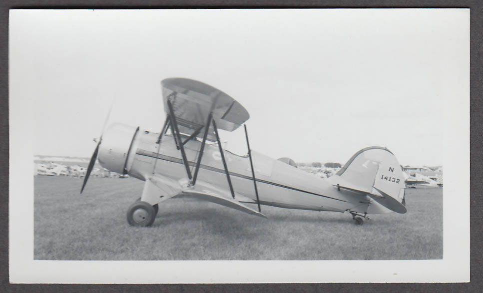 1935 Waco YMF N14132 airplane photo profile view