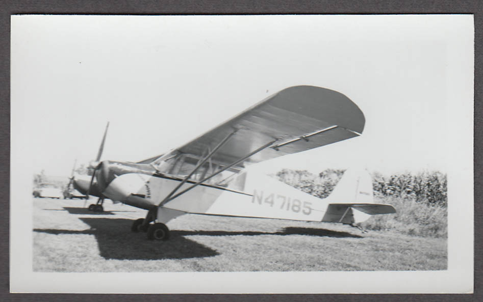 1943 Aeronca O-58B Grasshopper airplane photo N47185 Mighty Mouse