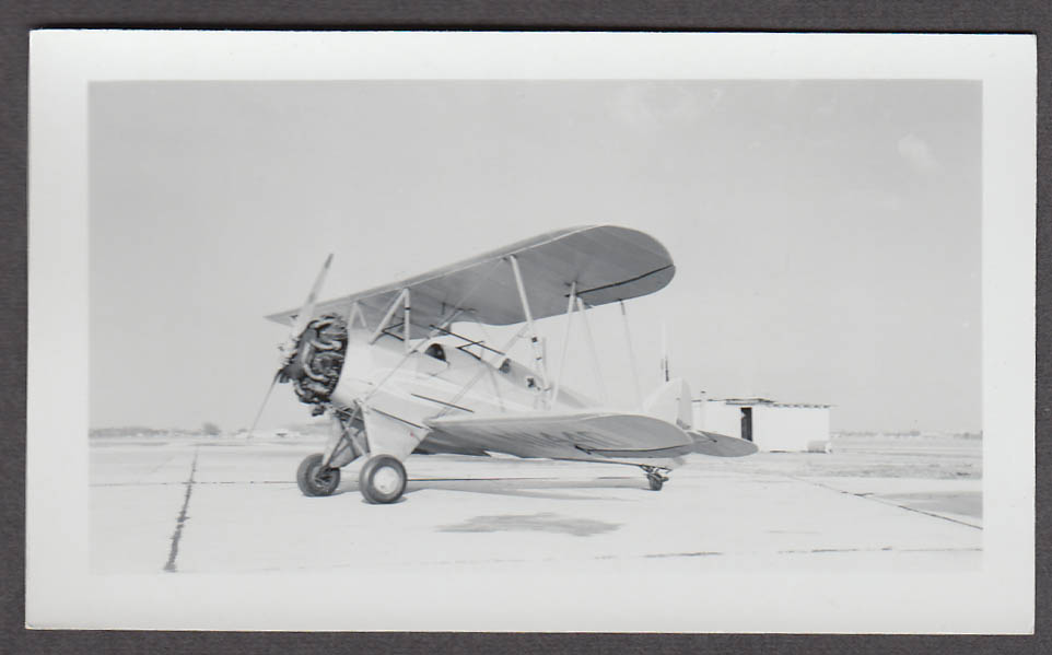 1931 Waco QCF airplane photo N11440 3/4 front view