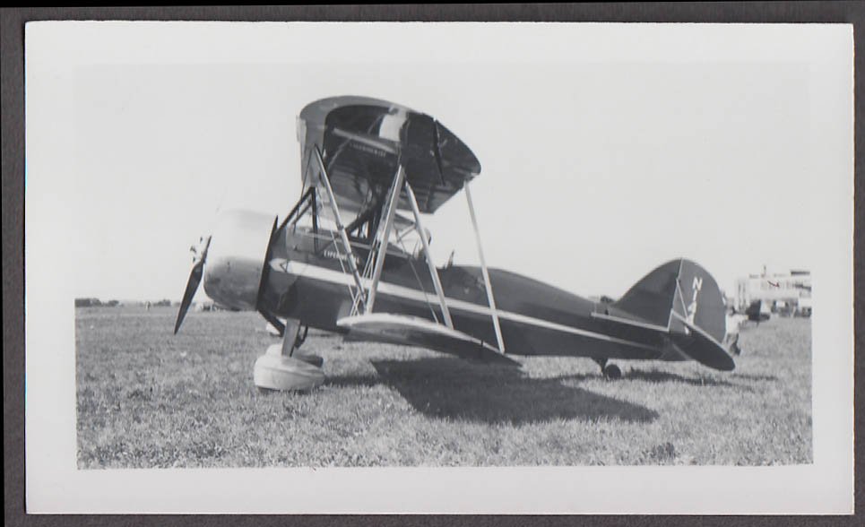 1930 Waco Model RNF photo N144Y Experimental airplane photo profile view