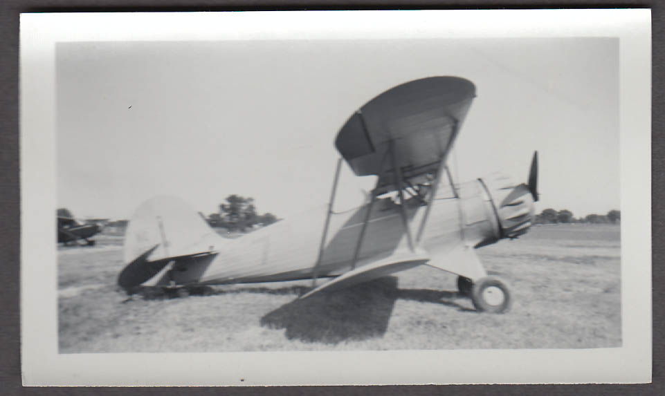 1935 Waco UMF airplane photo N14627