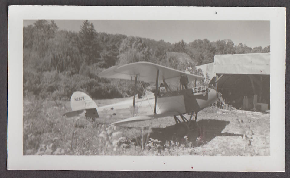 1926 Waco 9 airplane photo N2574