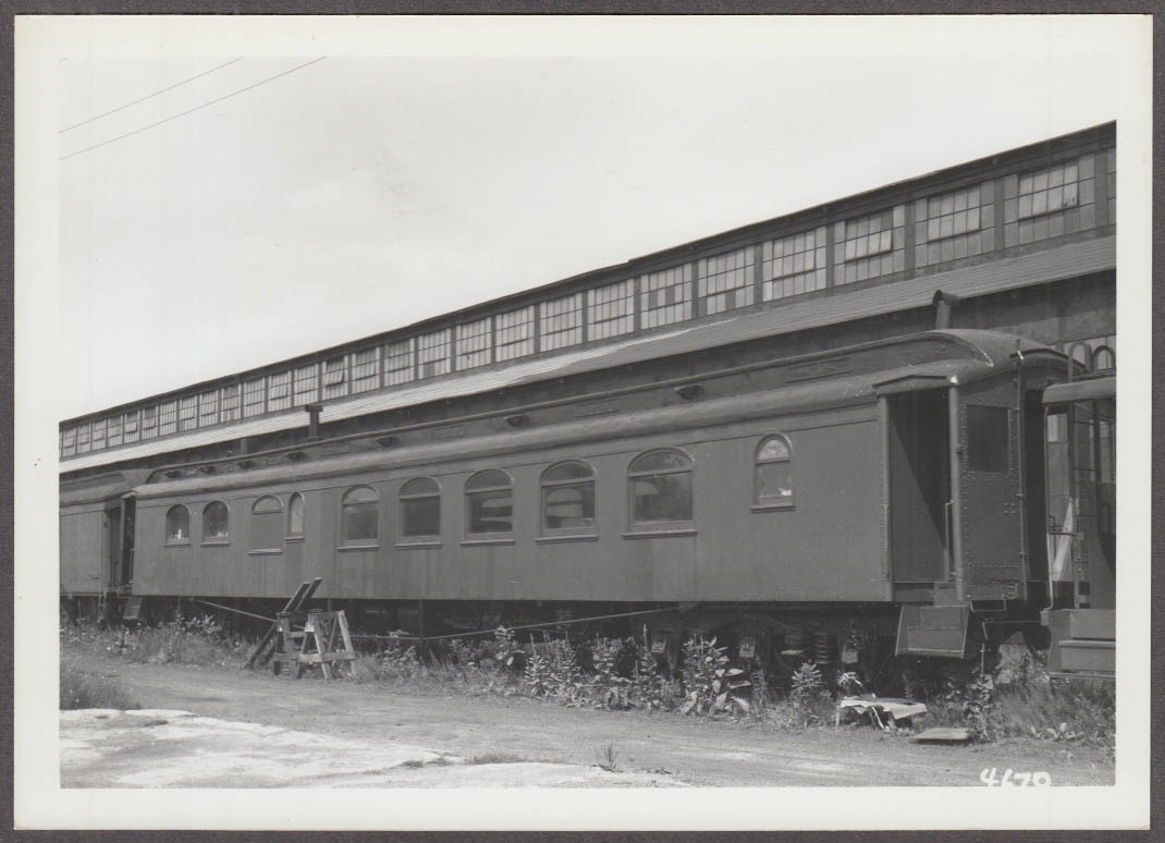 New York New Haven & Hartford RR Work Diner photo Maybrook NY 1966