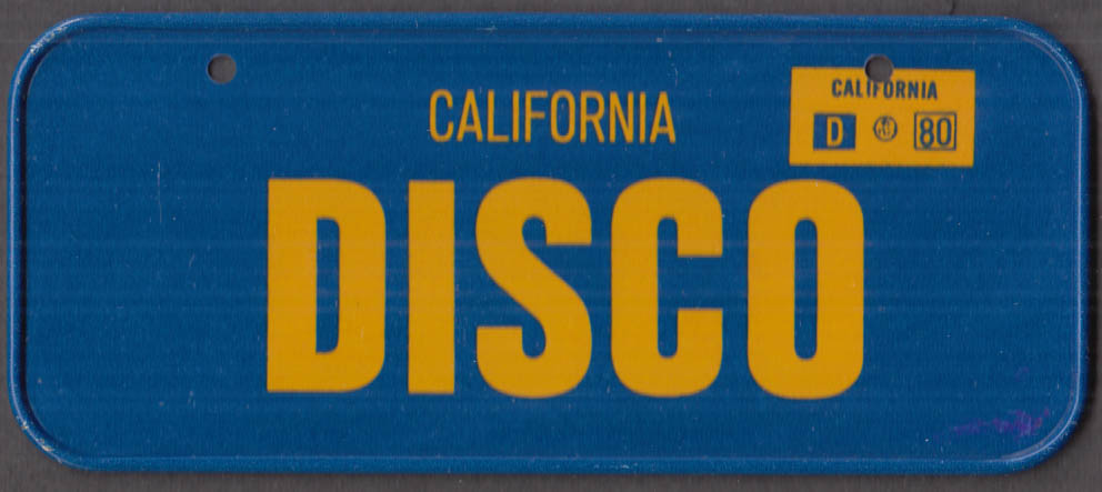 1980 Post Honeycomb Cereal license plate California - DISCO