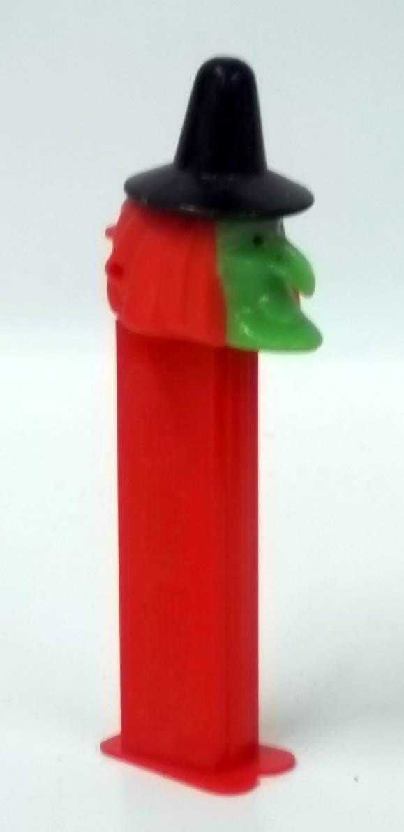 PEZ dispenser Halloween Witch 4.9 Made in Yugoslavia