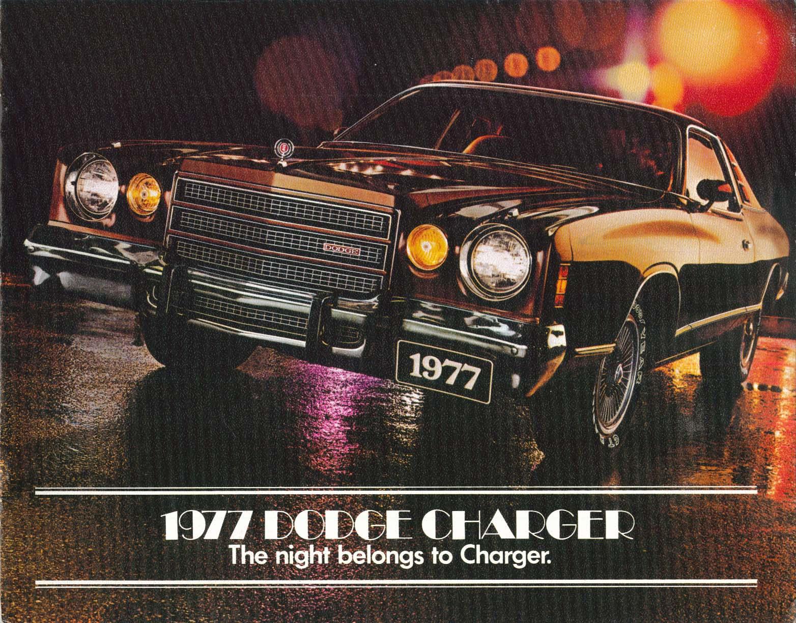Image for 1977 Dodge Charger SE Daytona sales brochure