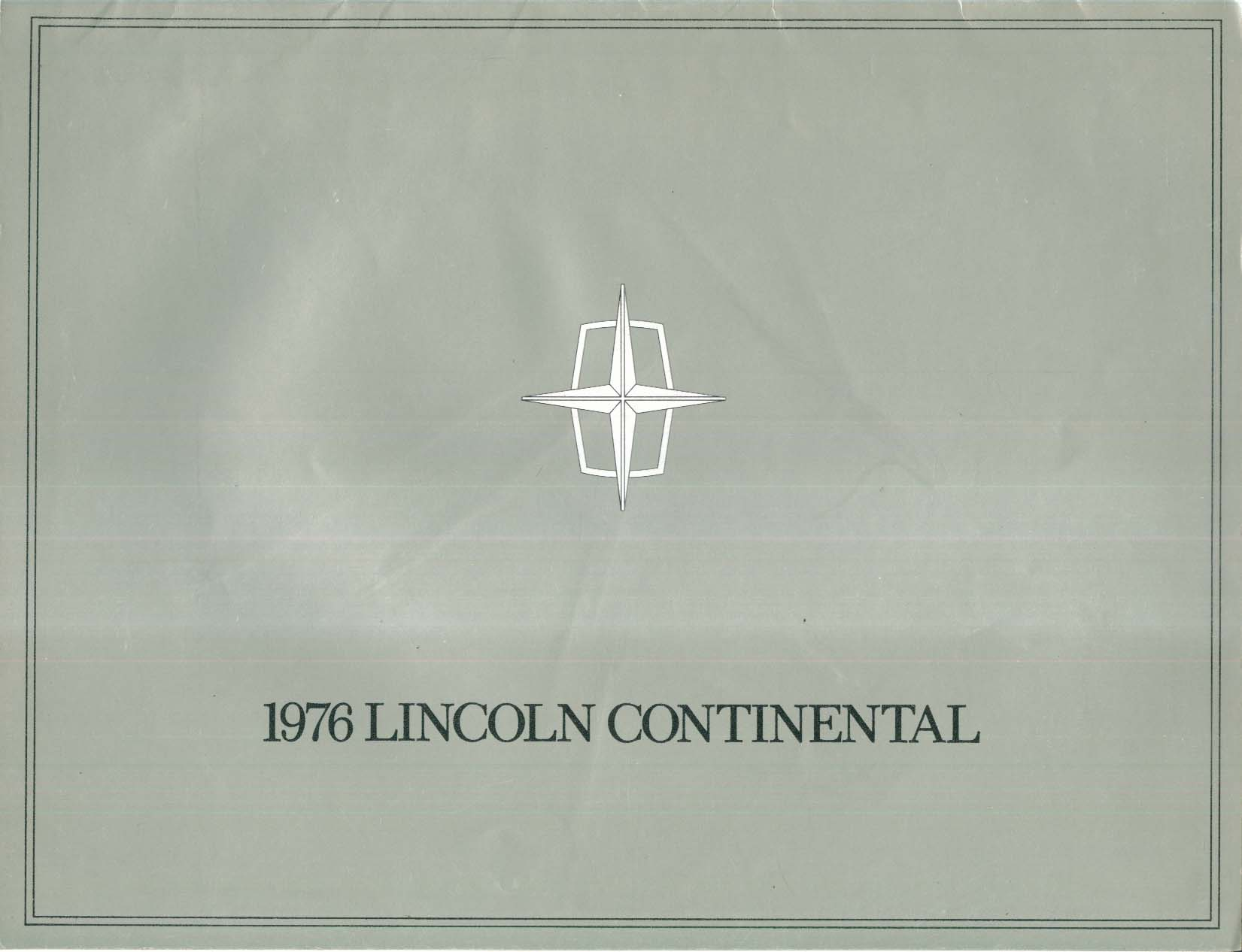 Image for 1969 Lincoln Continental Mark III Coupe brochure