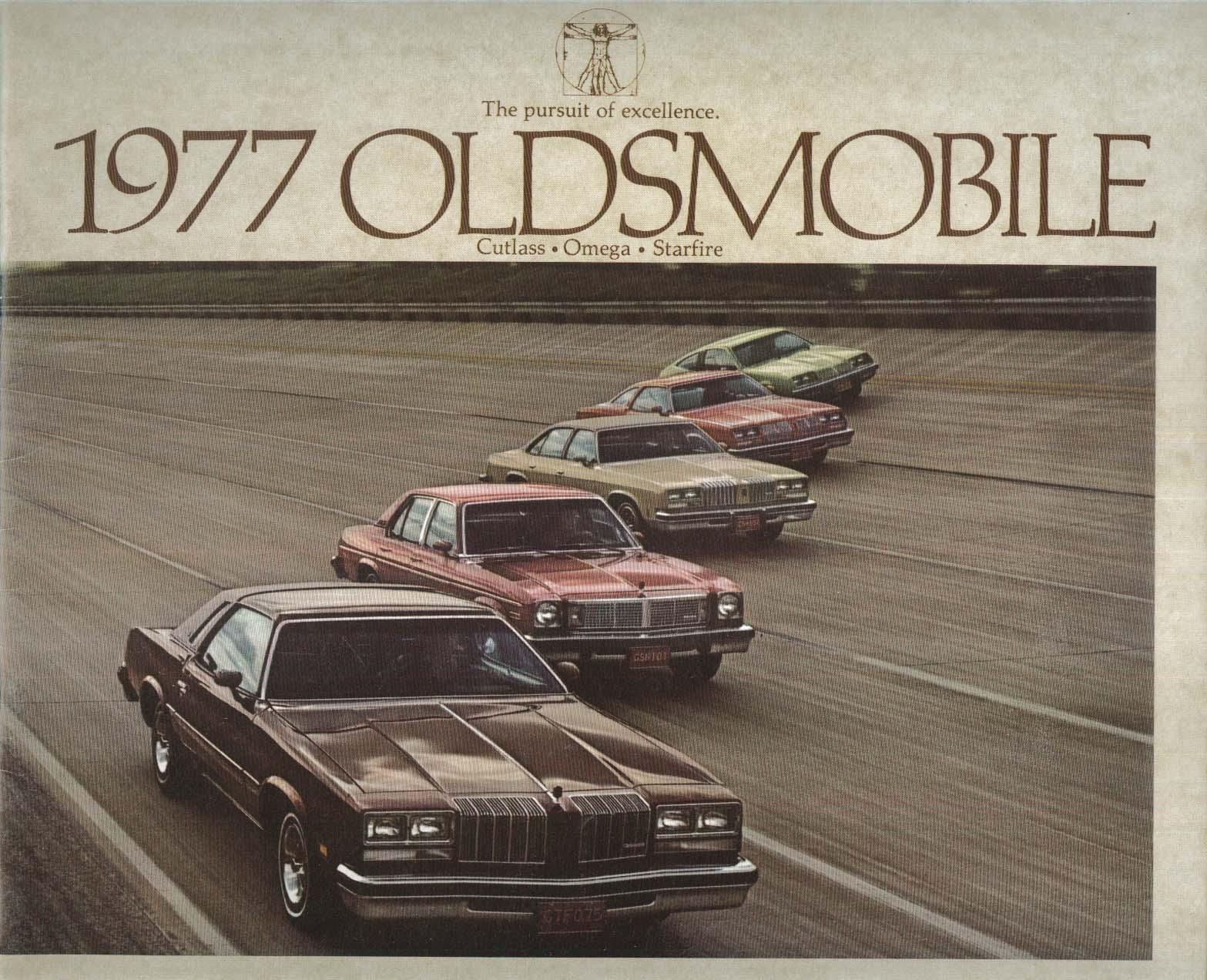 1977 Oldsmobile Cutlass Omega Starfire brochure