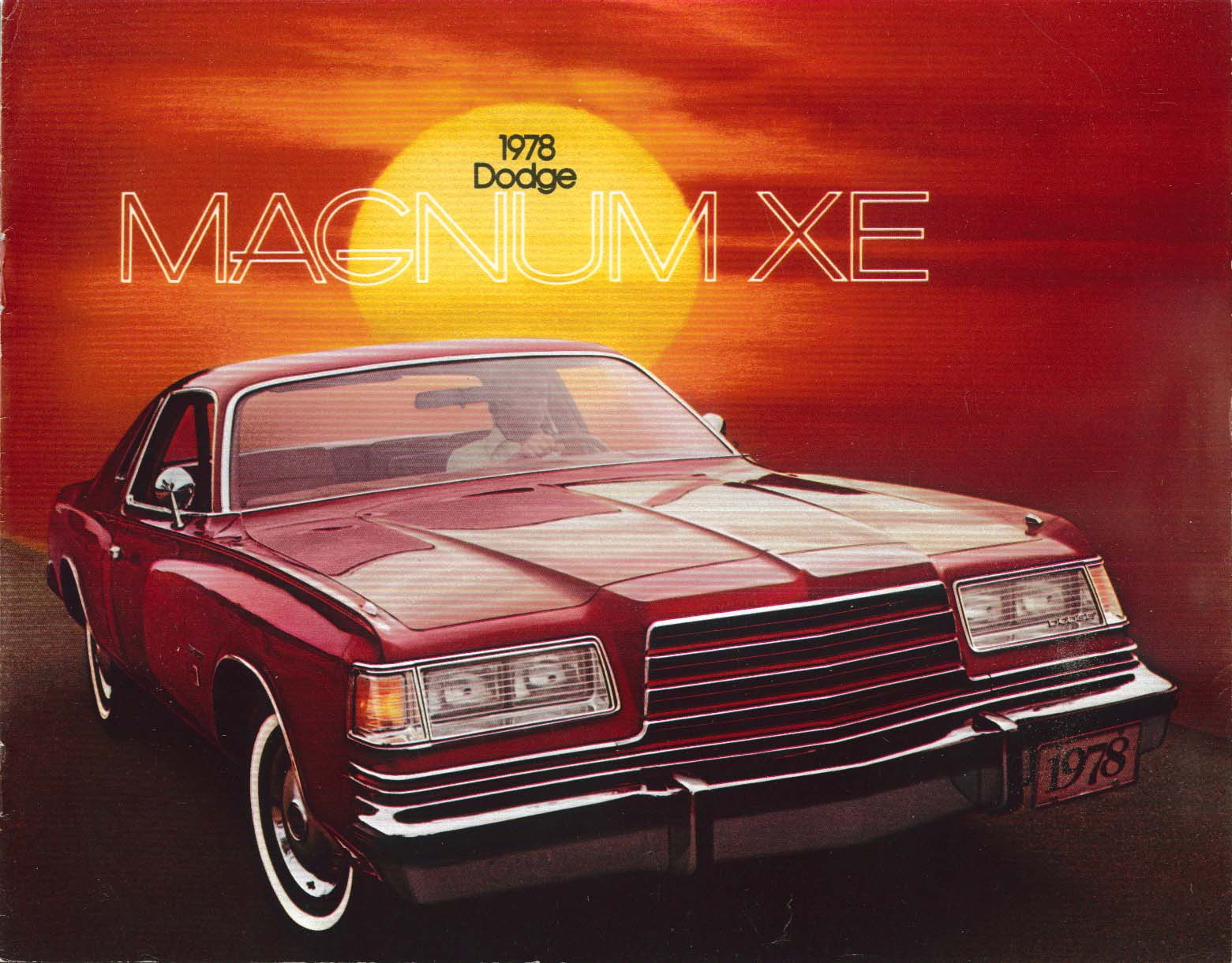 1978 Dodge Magnum XE sales brochure