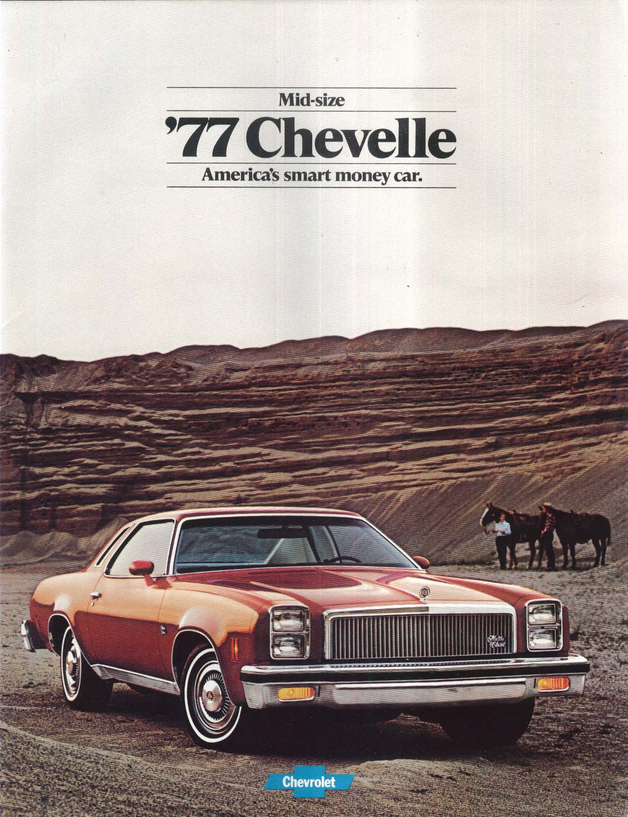 Image for 1977 Chevrolet Mid-Size Chevelle sales brochure: Malibu & Classic